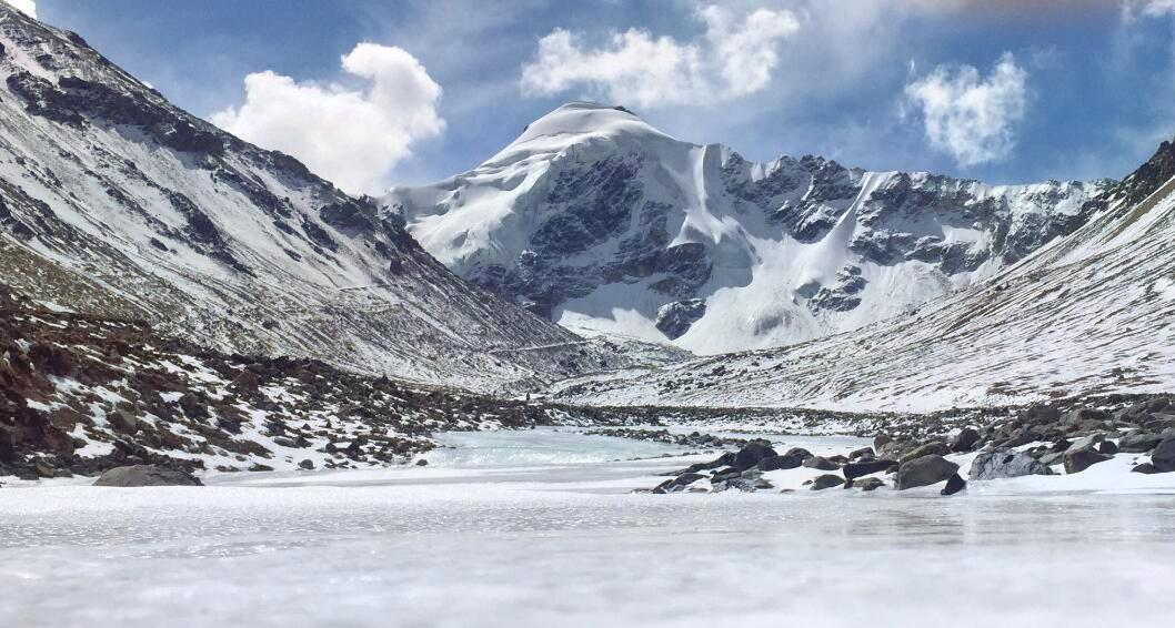 廓瓊崗日冰川
