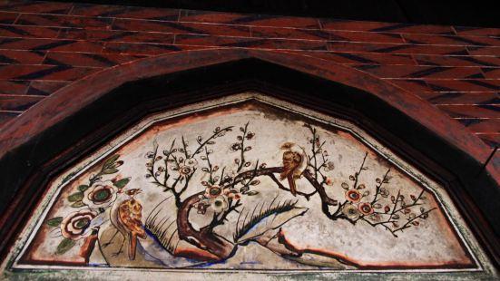壁画,雕梁彩绘,是二宜楼的特色之一。去华安之前,鱼鱼曾经到过