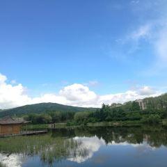 중국 린두 목조원 여행 사진