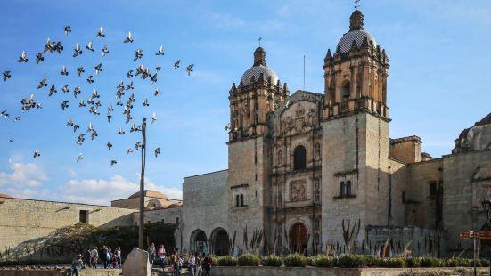 圣多明我教堂是晚哈卡的一座著名的教堂,教堂的巴洛克雕塑非常的
