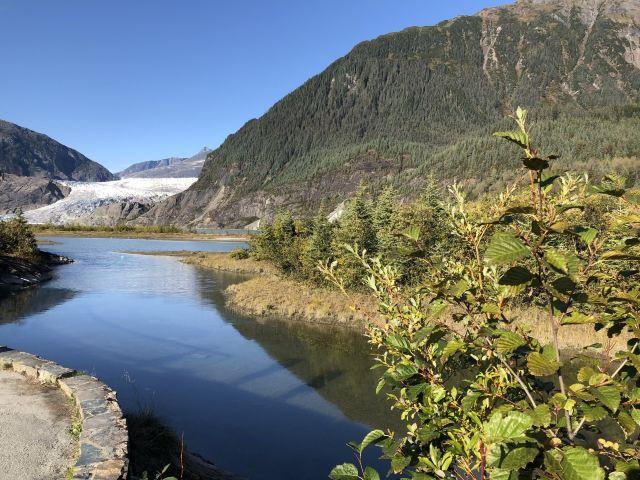 Mendenhall Glacier, mendenhall 冰川公園