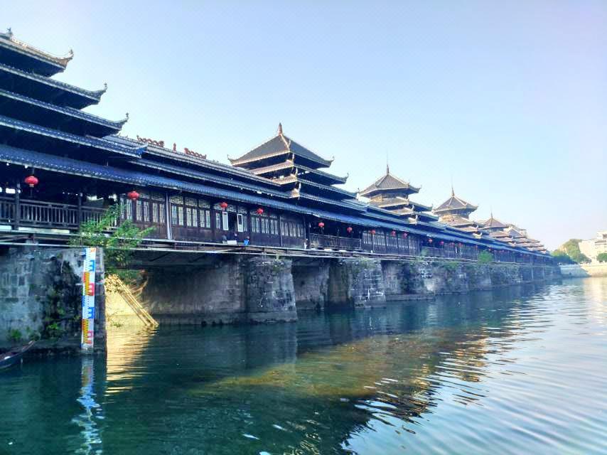 Longjin Covered Bridge