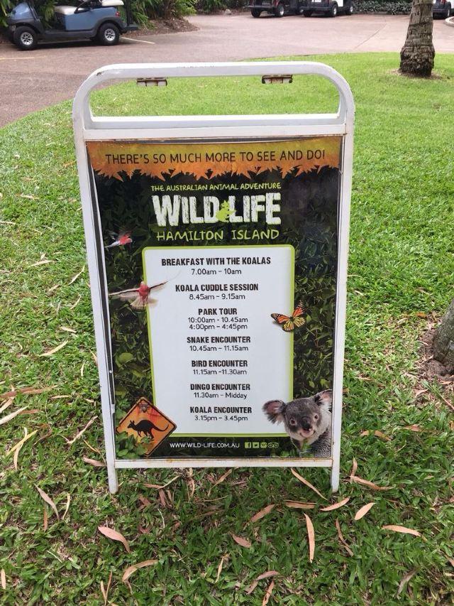 漢密爾頓島野生動物園