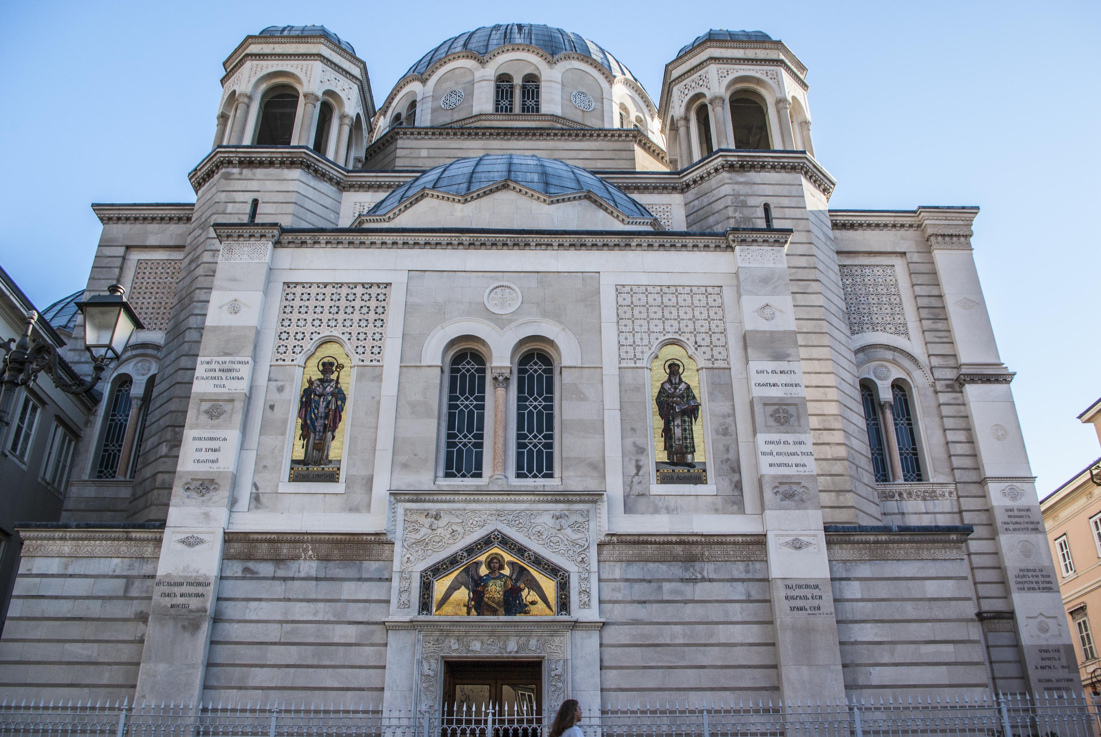 Serb - Orthodox Temple of Holy Trinity and Saint Spyridon