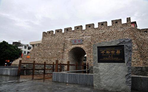 别小看这地方,可是岭南地区最长历史的城池之一呢,而现在却远离