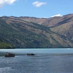 喀納斯湖月亮灣用戶圖片