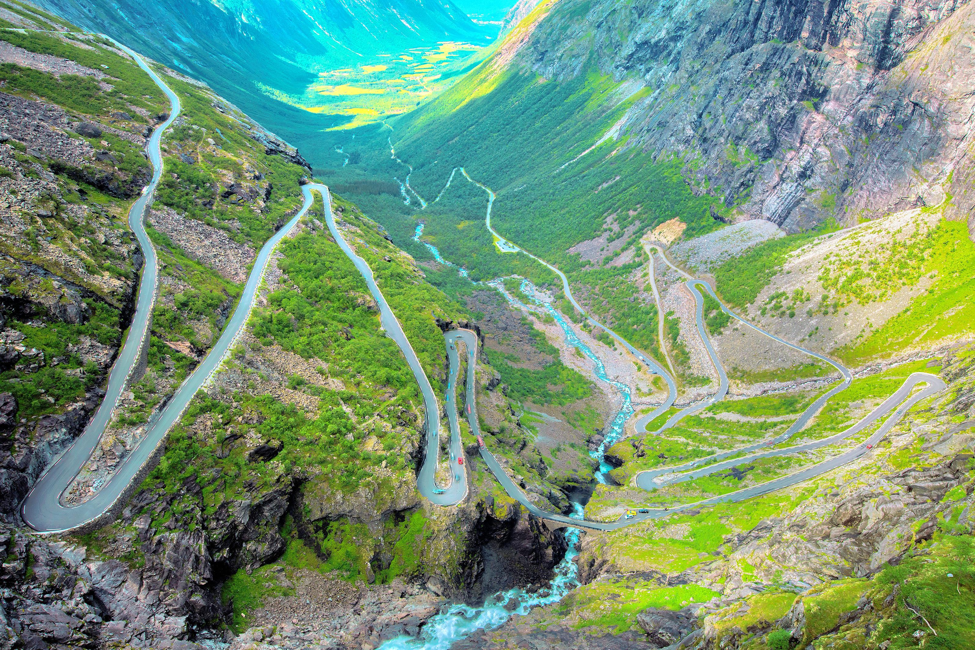 The Trollstigen Road