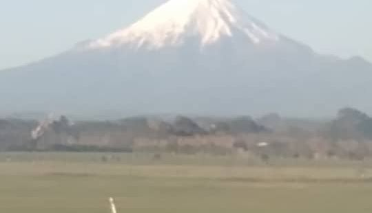 Wonderful Taranaki mountain.Lo
