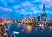 Go and Check Shanghai Modern Skyline with Bird's Eye View