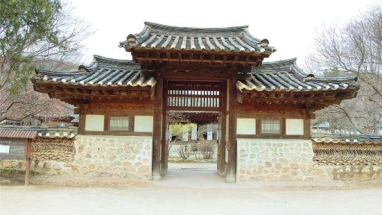 南韓民俗村