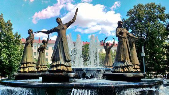 Fountain Seven Girls