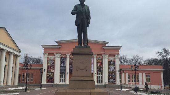 生理學家巴甫洛夫雕像