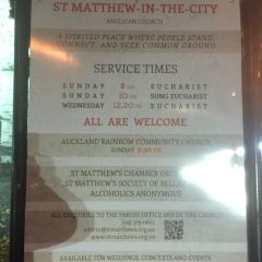 St Matthew-in-the-City Church User Photo