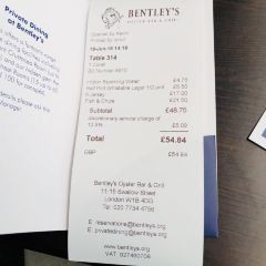 Bentley's Oyster Bar & Grill User Photo