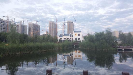 西部新城水景公園