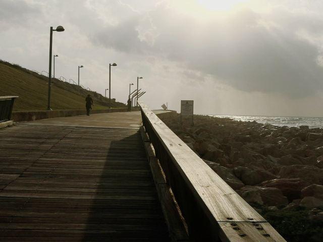 テル・アヴィヴの遊歩道