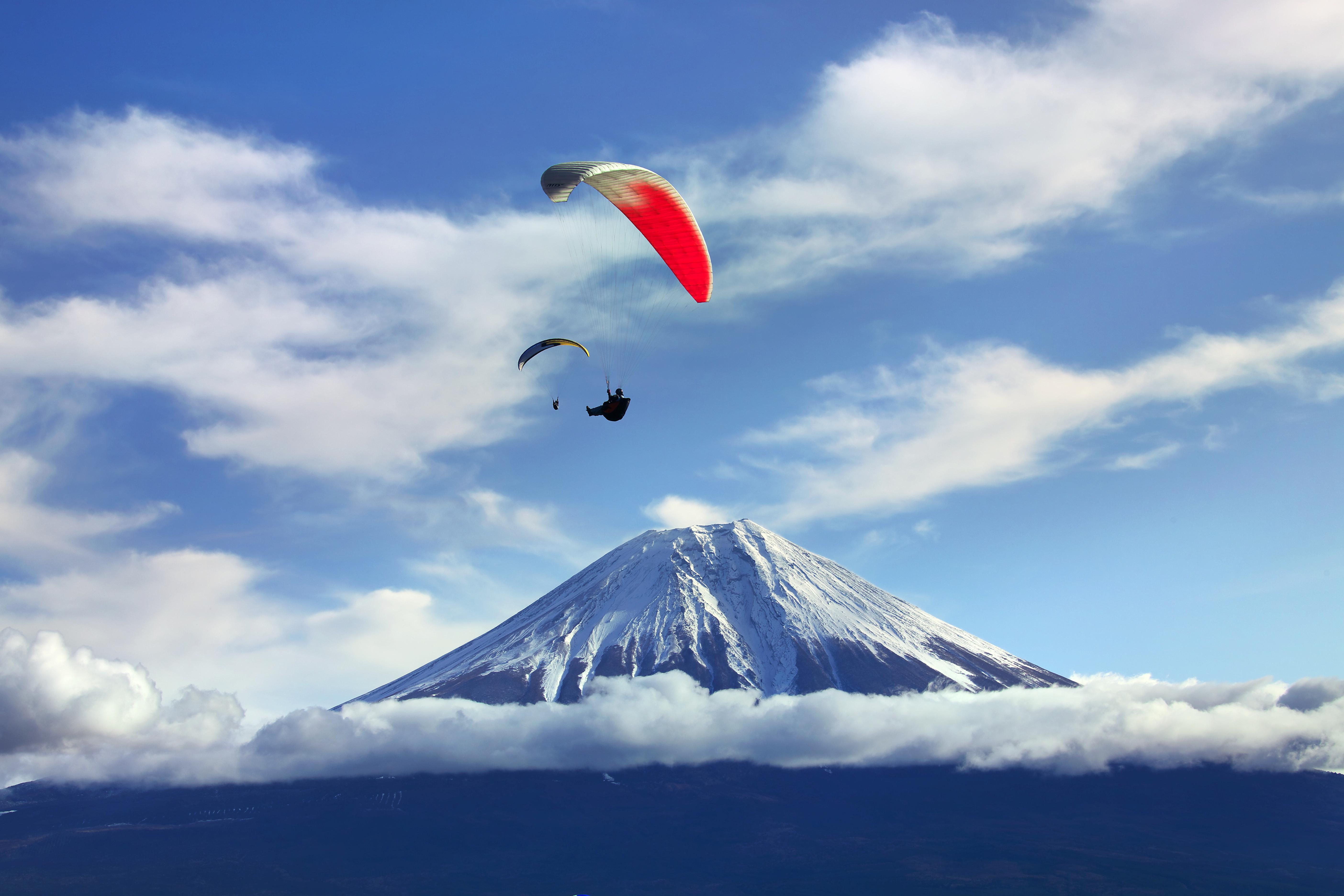 朝雾高原パラグライダー体験