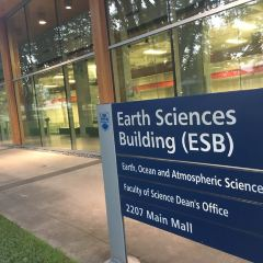 Earth and Ocean Science Building User Photo