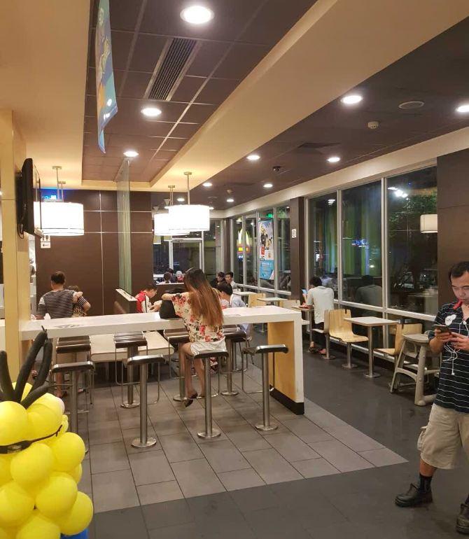麥當勞(坦洲得來速店)