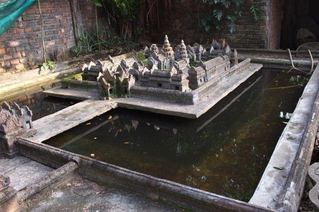 Miniature Replicas of Angkor's Temples