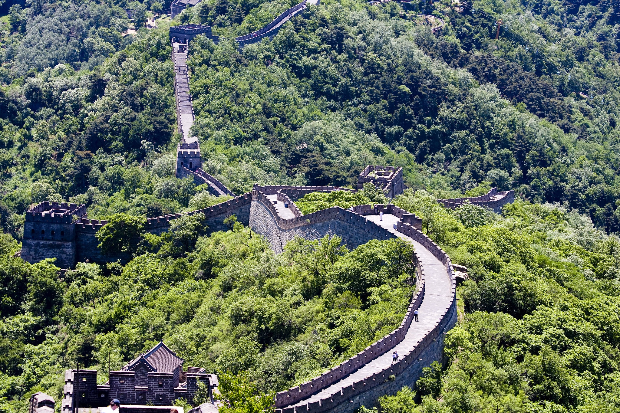 Mutianyu Great Wall Small Group Tour from Beijing Including Lunch