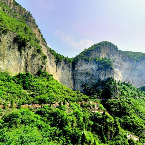 Qinglong Gorge ( Taihang Mountain Grand Canyon)