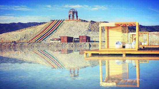 新疆鹽湖景區