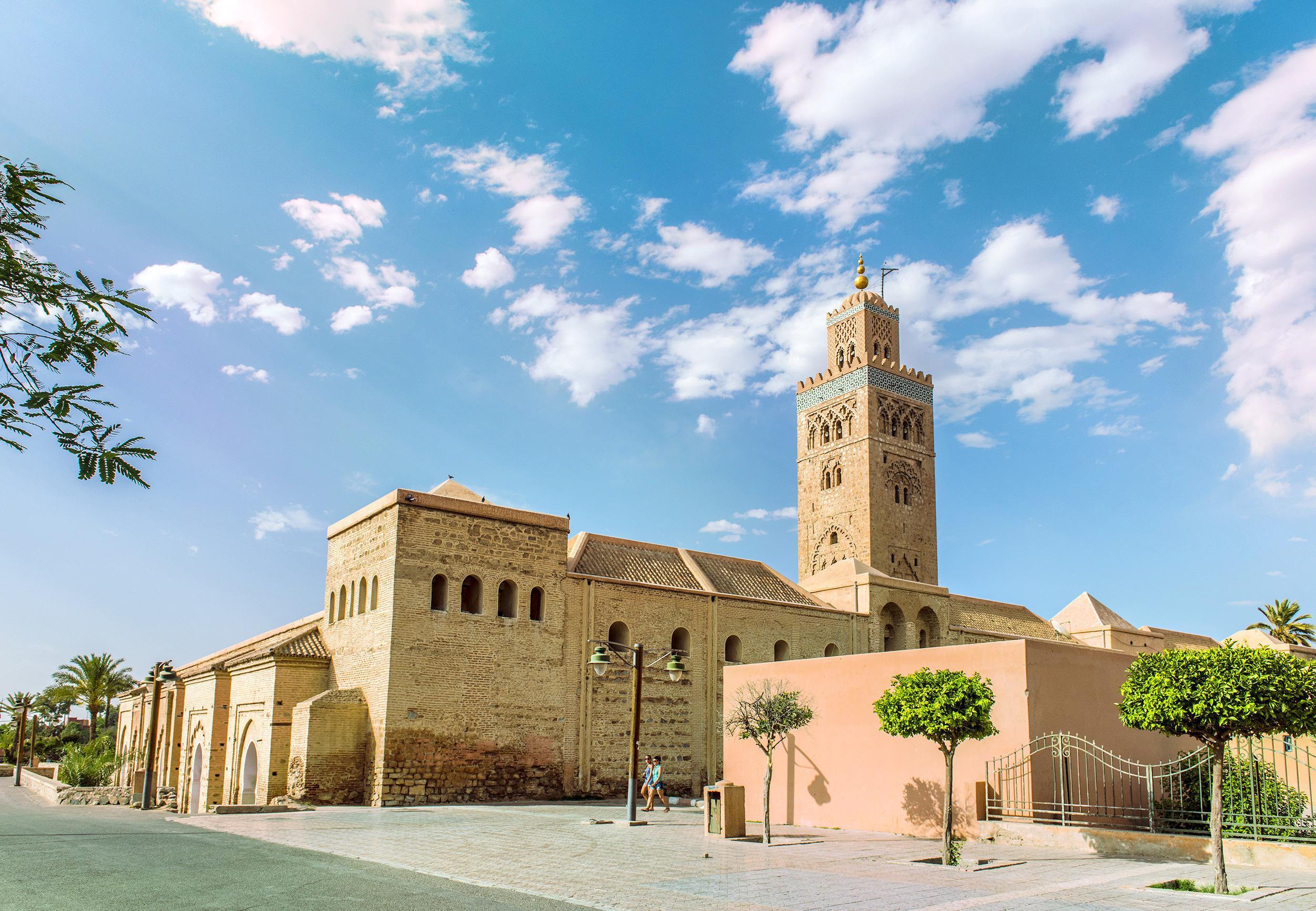 クトゥビーヤ・モスクとミナレット