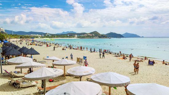 大東海旅遊區-沙灘躺椅區