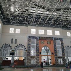 코타키나발루 시립 모스크 여행 사진