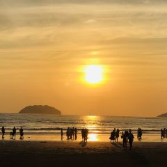 탄중아루 해변 여행 사진