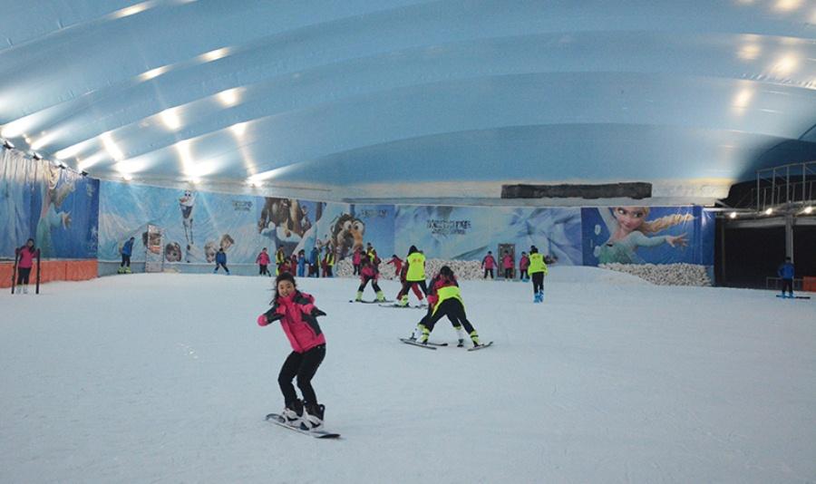 青田樂園室內滑雪場