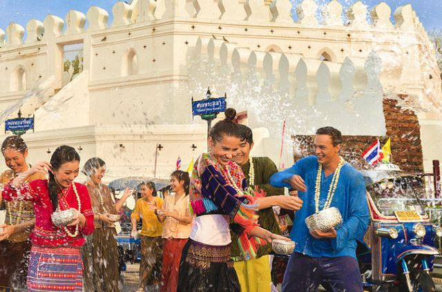 Songkran: Thailand's Wet and Wild Festival