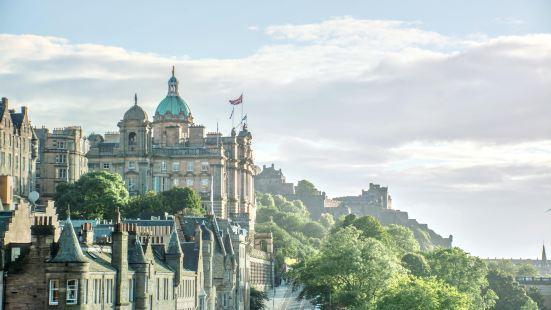 愛丁堡古城