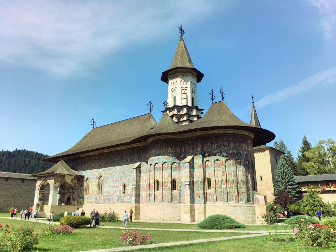蘇切維查修道院