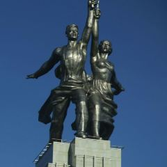 Worker and Kolkhoz Woman User Photo
