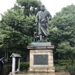 사이고 타카모리 동상 여행 사진