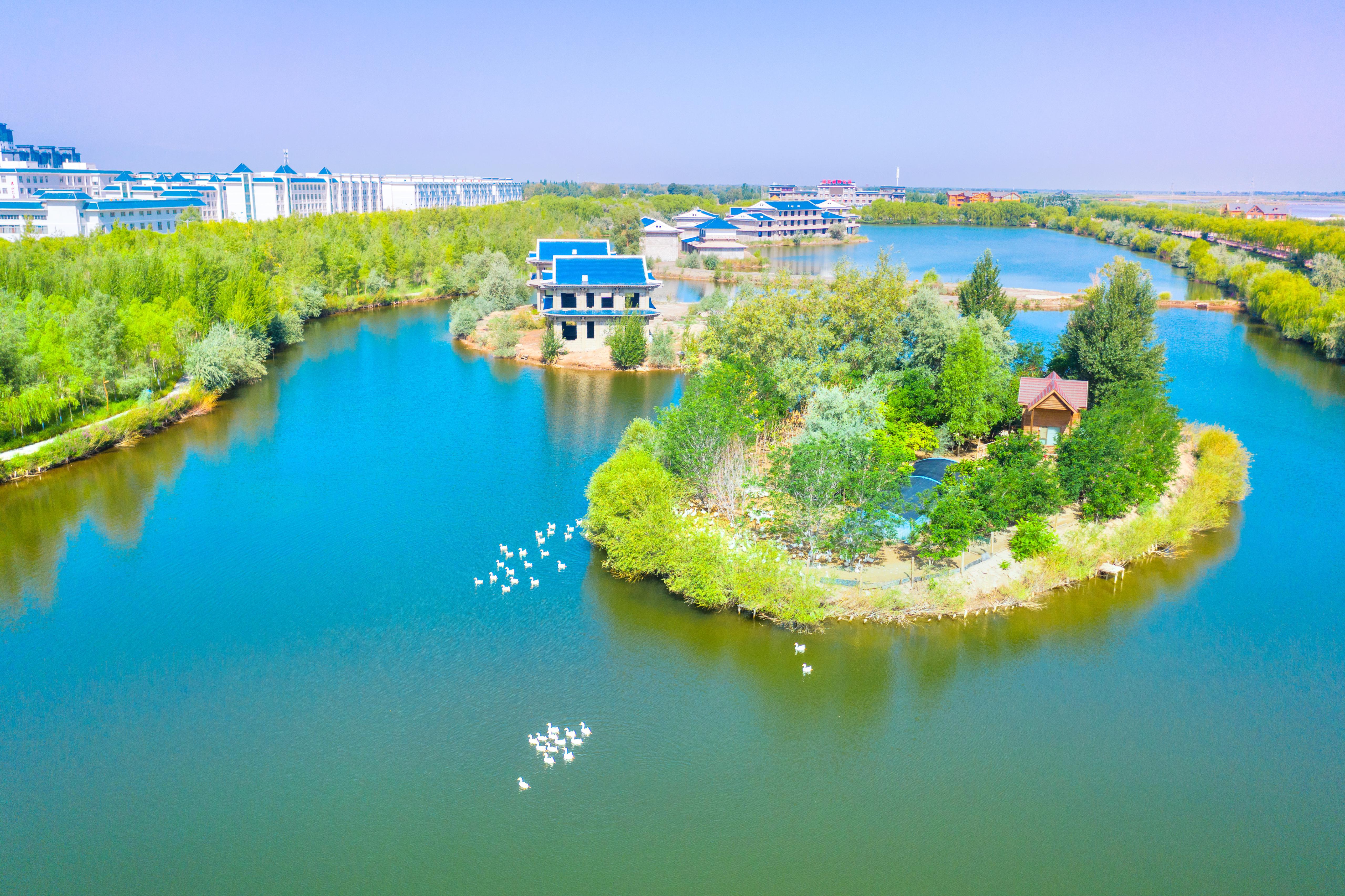 Dahu Bay Scenic Resort of Gaotai