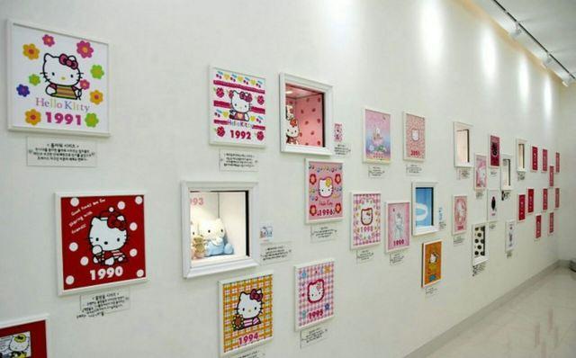 Hello Kitty展示館