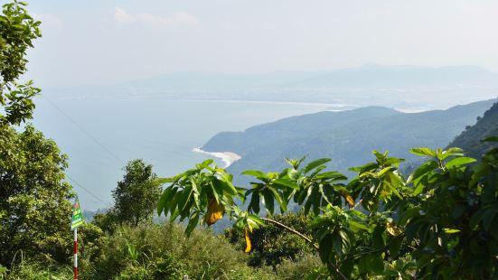 #萱萱的旅行# 海云岭这个被定义为人生50个必去的地方之一,