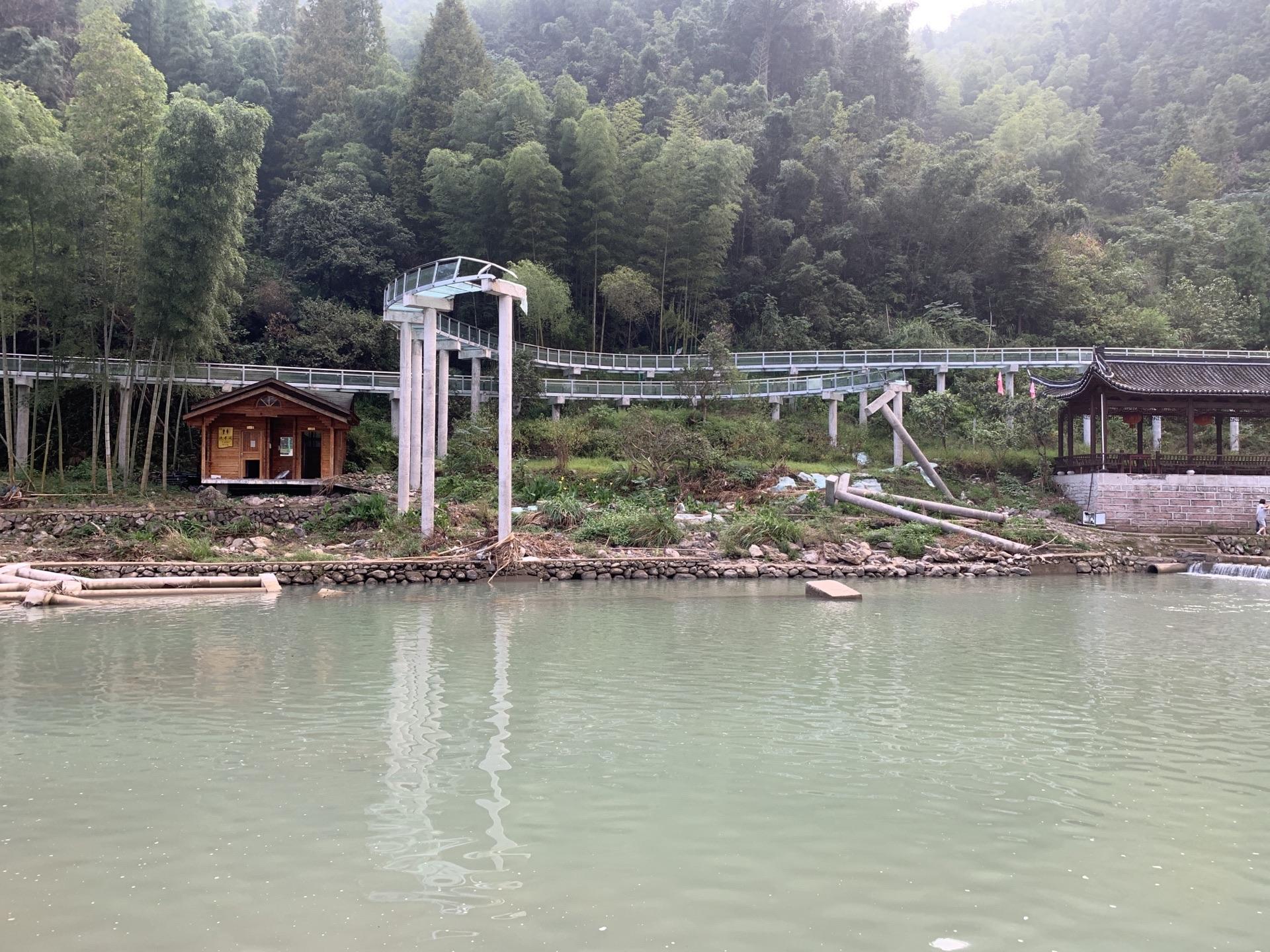 靈江源漂流碼頭