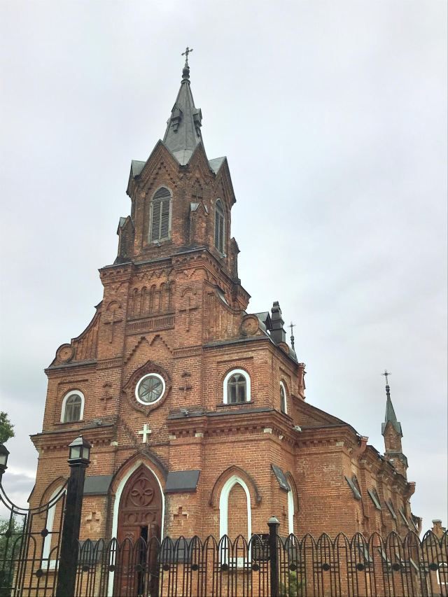 the Church of the Holy Rosary in Vladimir