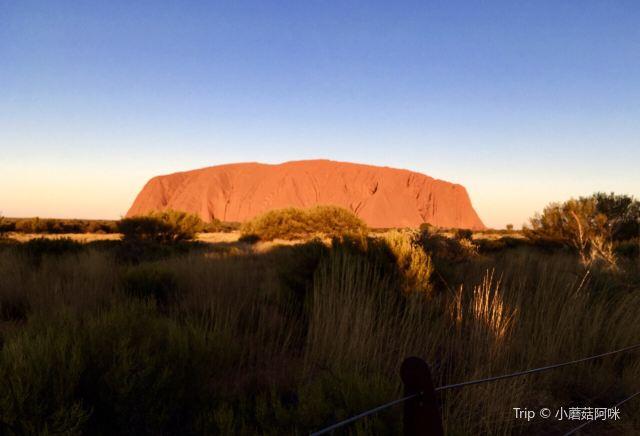 Uluru Car Sunset Viewing Area