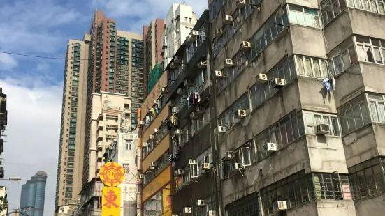 上海街/登打士街休憩處