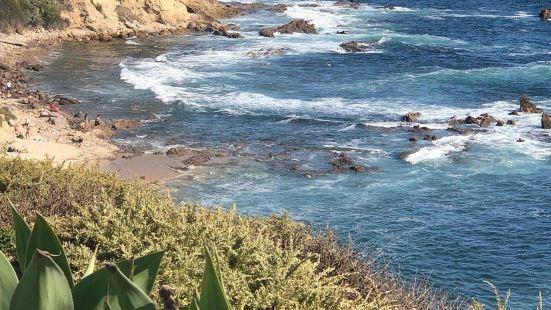 风景绝美的海滩——Little Corona Beach夏天