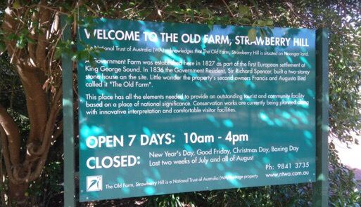The Old Farm, Strawberry Hill