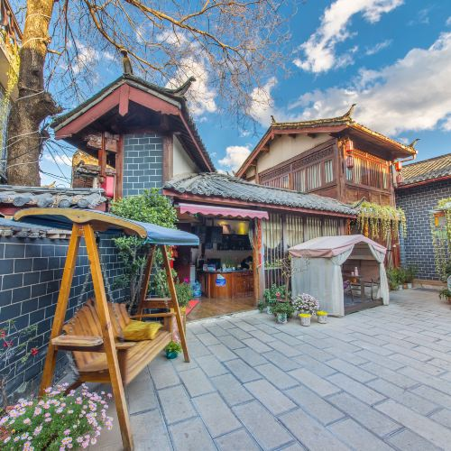 Old Town Yufu Light Luxury Holiday Courtyard