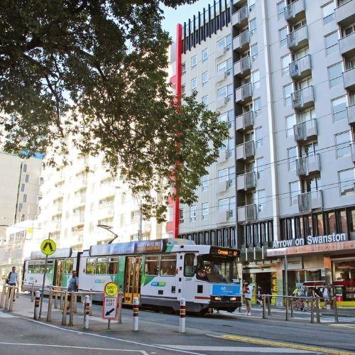 Arrow on Swanston Melbourne
