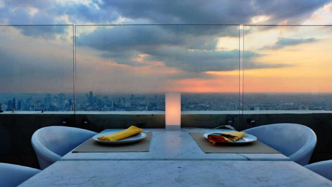曼谷拜約克玉葉大廈 彩虹雲霄飯店 Baiyoke Sky Hotel 高空餐廳國際自助餐