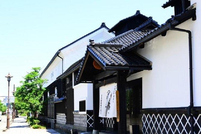 A Guided Tour around Saijo Sake Brewery Street in Higashi Hiroshima